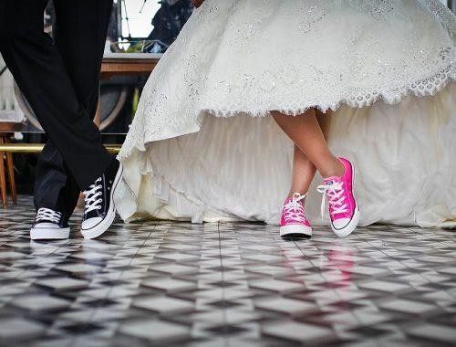 porter des chaussures en toile
