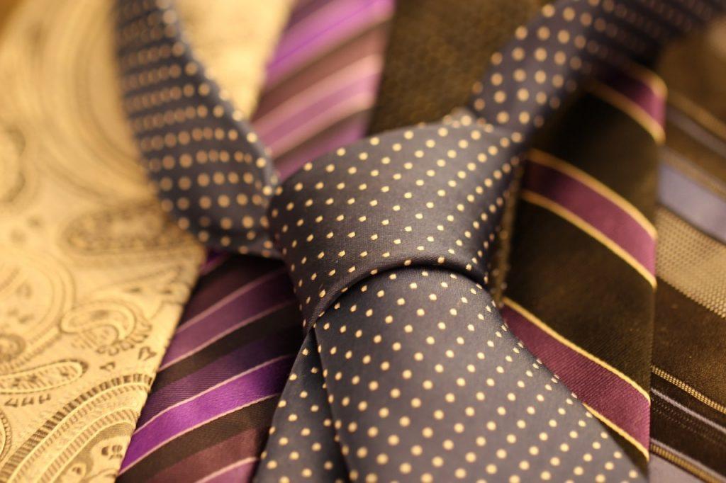 lot de cravate en soie