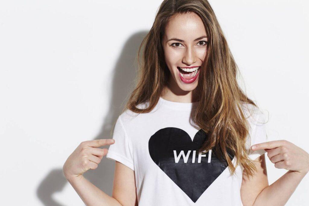tee shirt à message pour femme